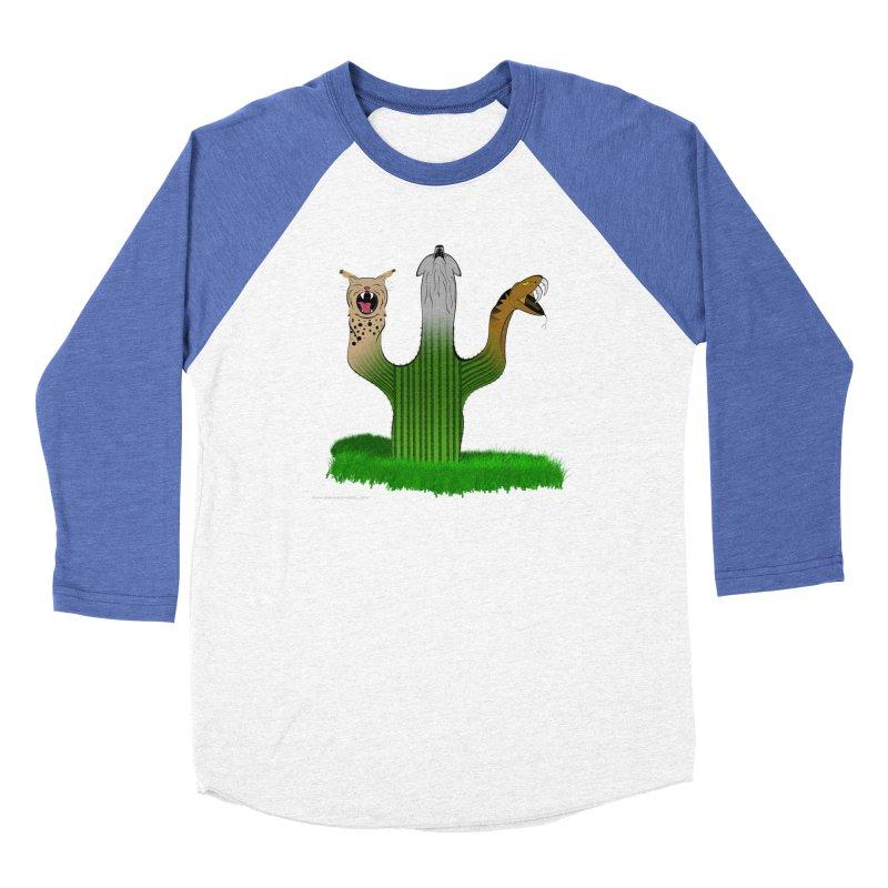 The Life of A Desert Women's Baseball Triblend Longsleeve T-Shirt by Every Drop's An Idea's Artist Shop