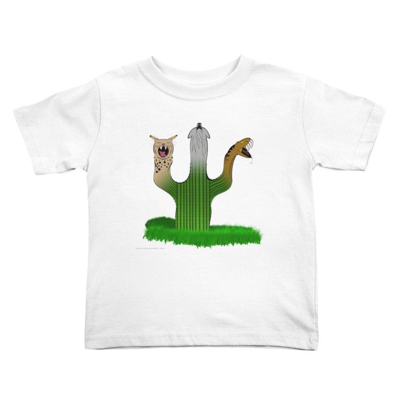 The Life of A Desert Kids Toddler T-Shirt by Every Drop's An Idea's Artist Shop