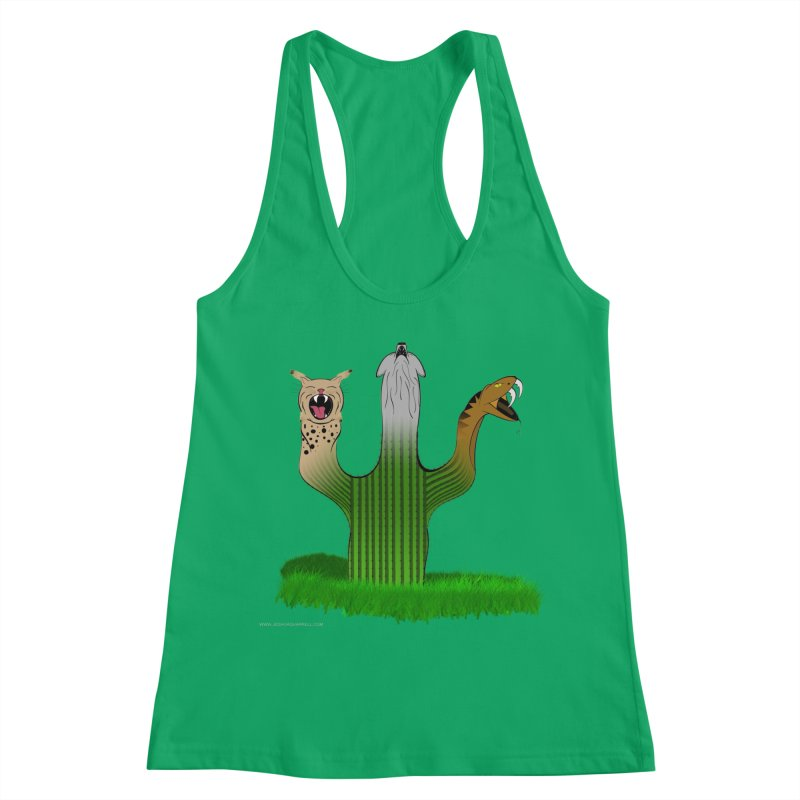 The Life of A Desert Women's Racerback Tank by Every Drop's An Idea's Artist Shop