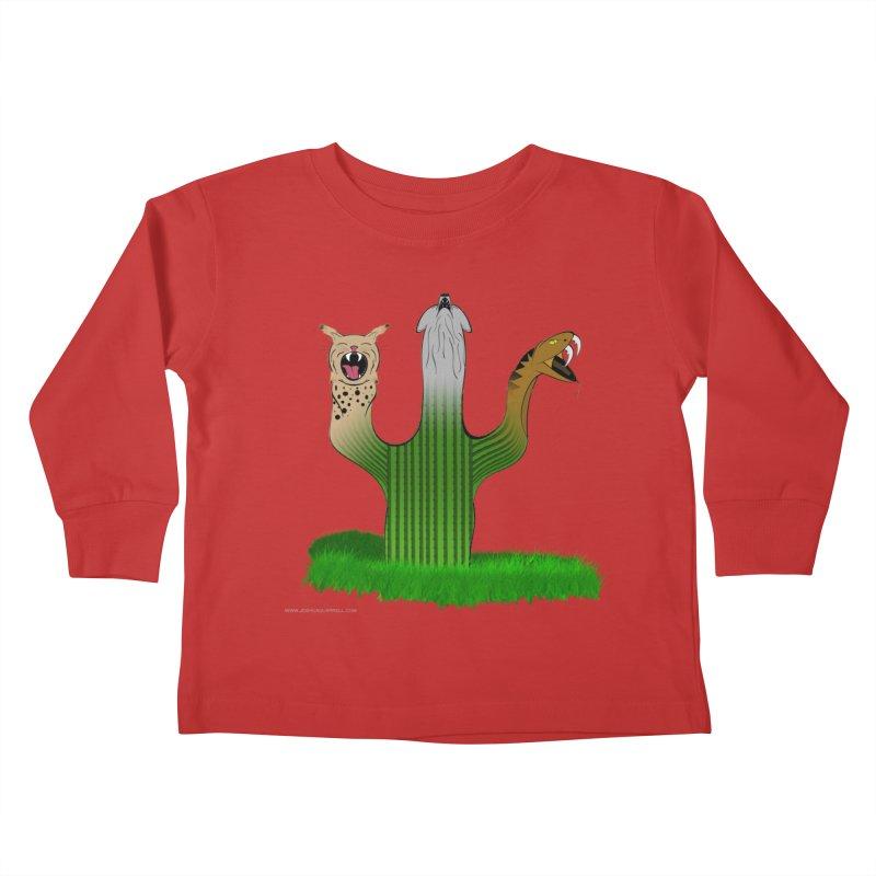 The Life of A Desert Kids Toddler Longsleeve T-Shirt by Every Drop's An Idea's Artist Shop