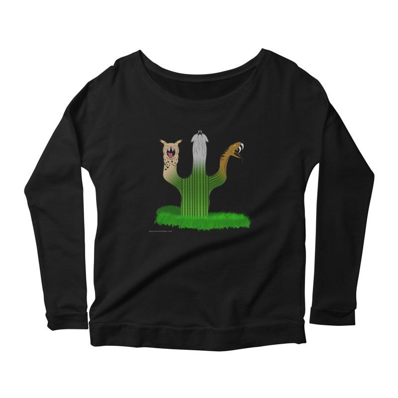 The Life of A Desert Women's Scoop Neck Longsleeve T-Shirt by Every Drop's An Idea's Artist Shop