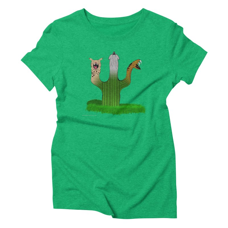 The Life of A Desert Women's Triblend T-Shirt by Every Drop's An Idea's Artist Shop