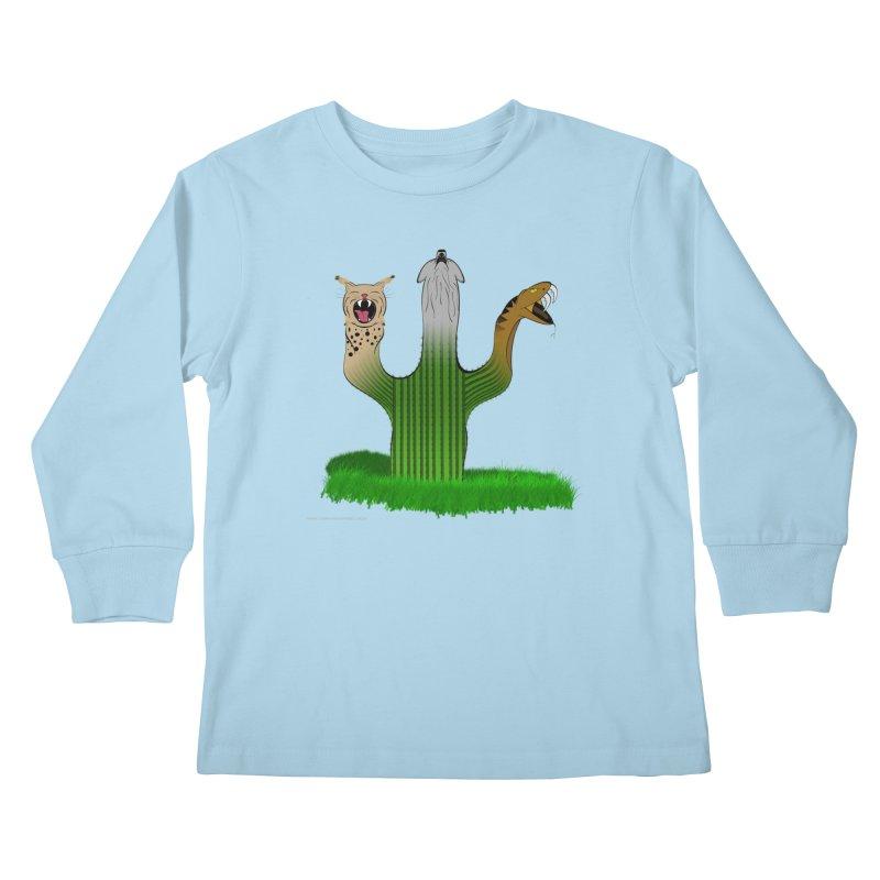 The Life of A Desert Kids Longsleeve T-Shirt by Every Drop's An Idea's Artist Shop