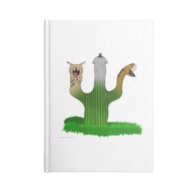 The Life of A Desert Accessories Lined Journal Notebook by Every Drop's An Idea's Artist Shop