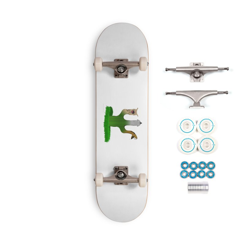 The Life of A Desert Accessories Complete - Basic Skateboard by Every Drop's An Idea's Artist Shop