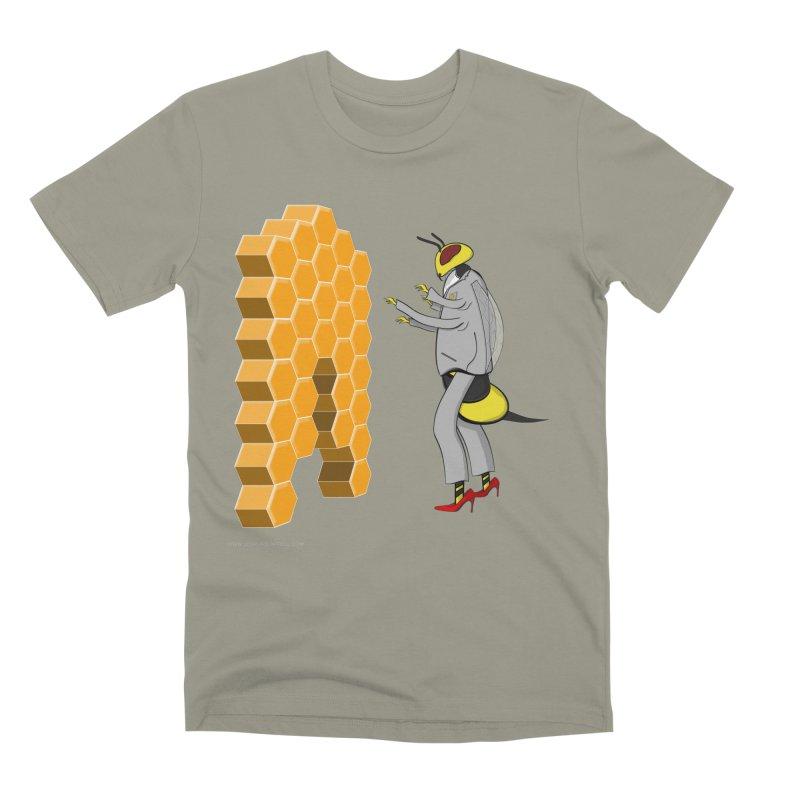 Busy Bee Men's Premium T-Shirt by Every Drop's An Idea's Artist Shop