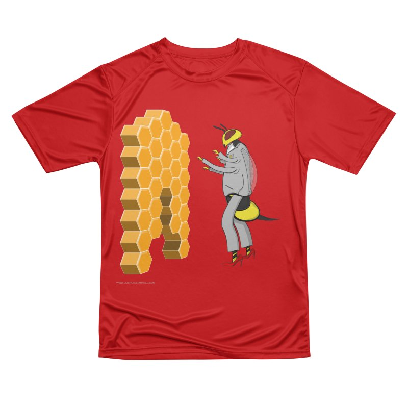 Busy Bee Men's Performance T-Shirt by Every Drop's An Idea's Artist Shop