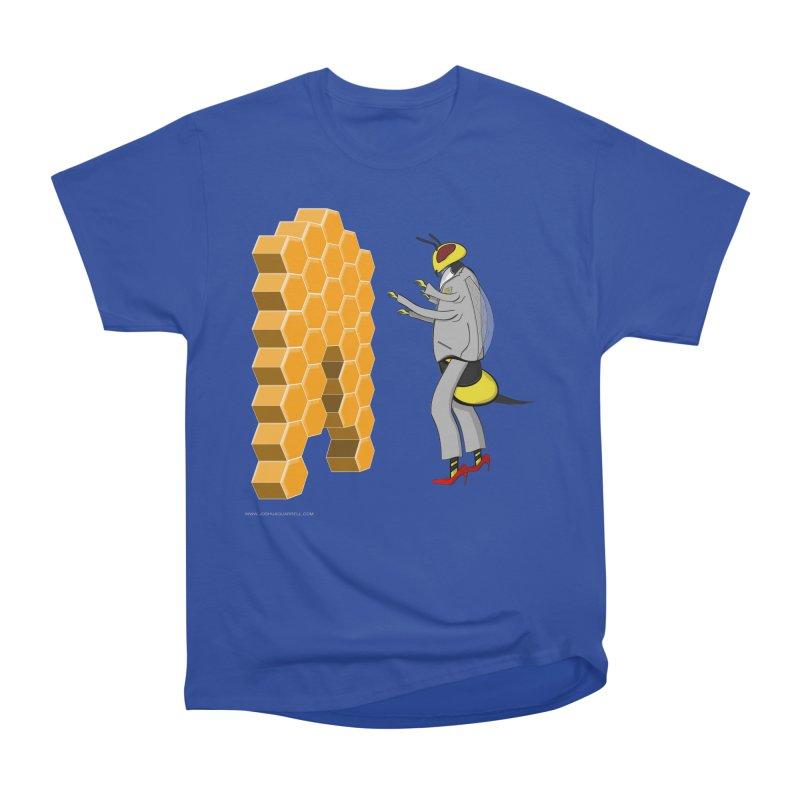 Busy Bee Men's Heavyweight T-Shirt by Every Drop's An Idea's Artist Shop