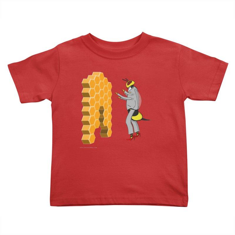 Busy Bee Kids Toddler T-Shirt by Every Drop's An Idea's Artist Shop