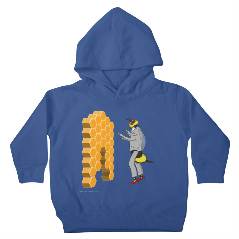 Busy Bee Kids Toddler Pullover Hoody by Every Drop's An Idea's Artist Shop