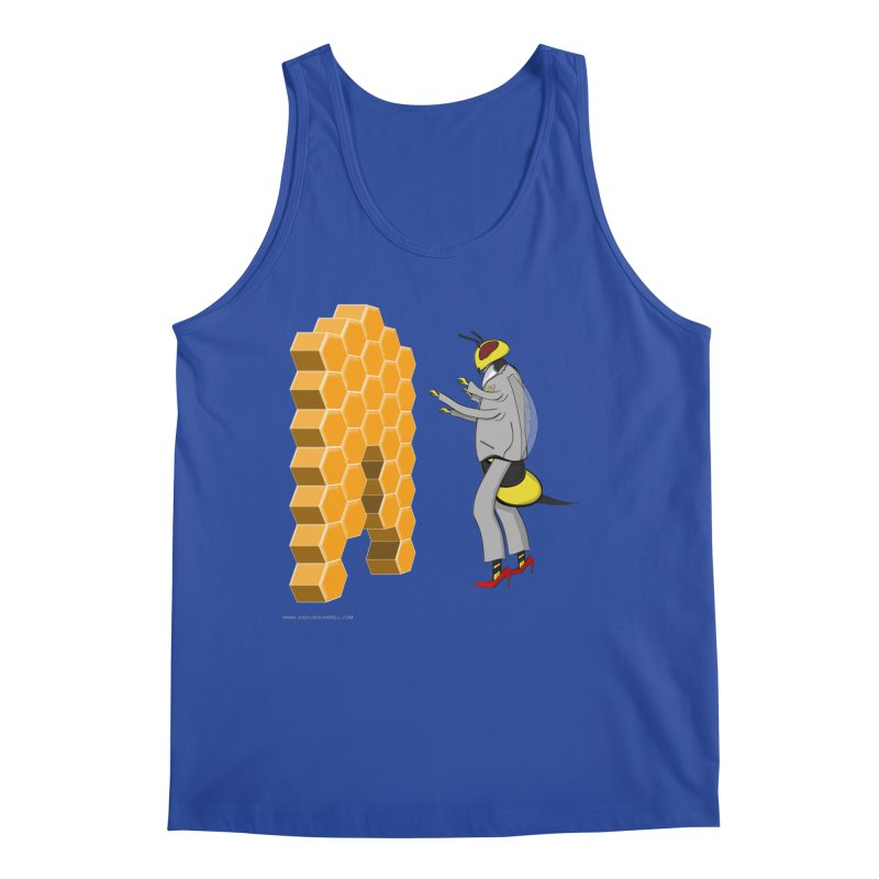 Busy Bee Men's Regular Tank by Every Drop's An Idea's Artist Shop