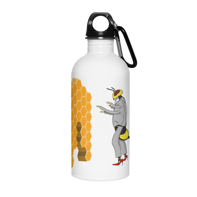 Busy Bee Accessories Water Bottle by Every Drop's An Idea's Artist Shop