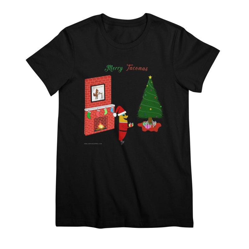 Merry Tacomas Women's Premium T-Shirt by Every Drop's An Idea's Artist Shop