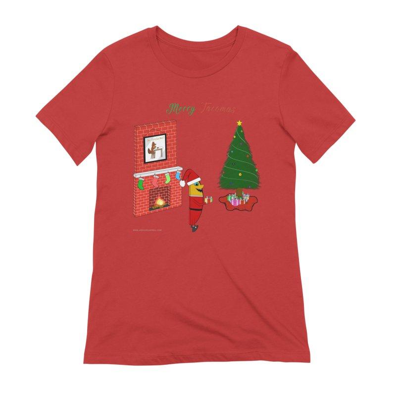 Merry Tacomas Women's Extra Soft T-Shirt by Every Drop's An Idea's Artist Shop