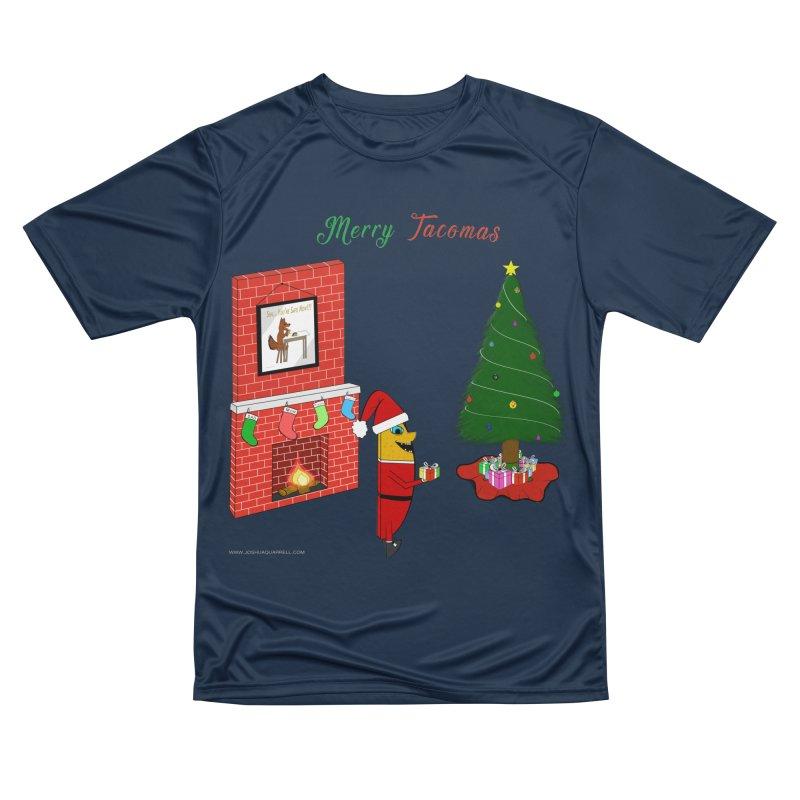 Merry Tacomas Women's Performance Unisex T-Shirt by Every Drop's An Idea's Artist Shop