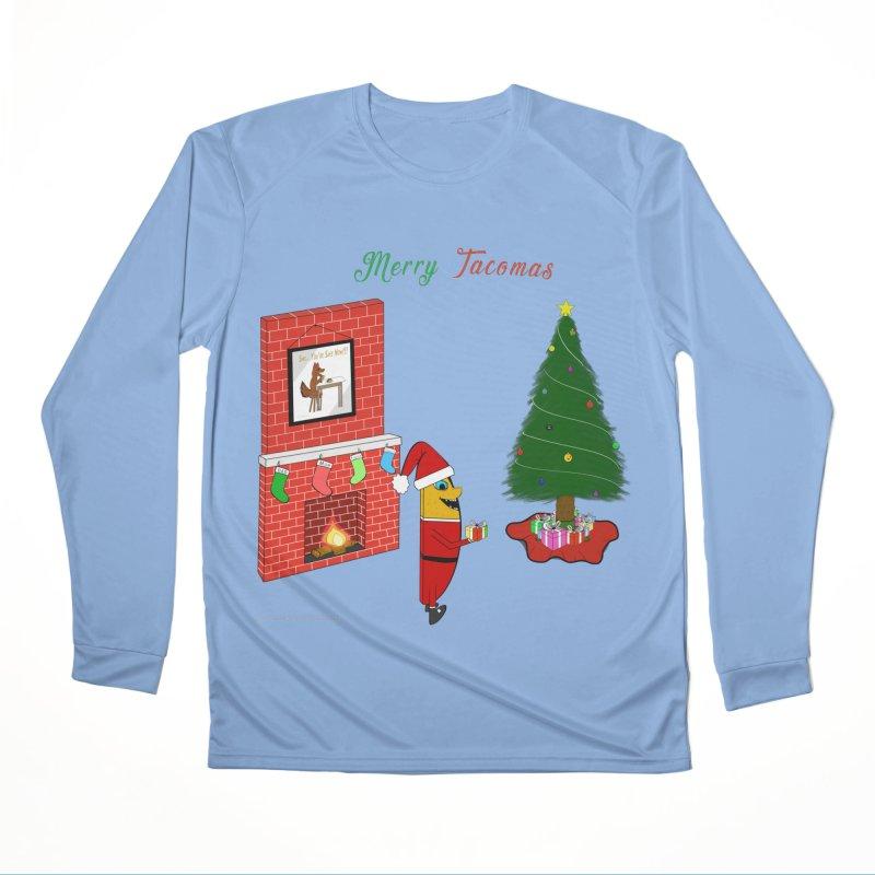 Merry Tacomas Men's Performance Longsleeve T-Shirt by Every Drop's An Idea's Artist Shop