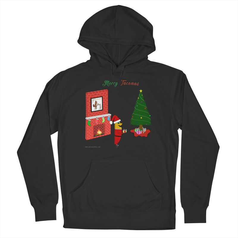 Merry Tacomas Women's French Terry Pullover Hoody by Every Drop's An Idea's Artist Shop