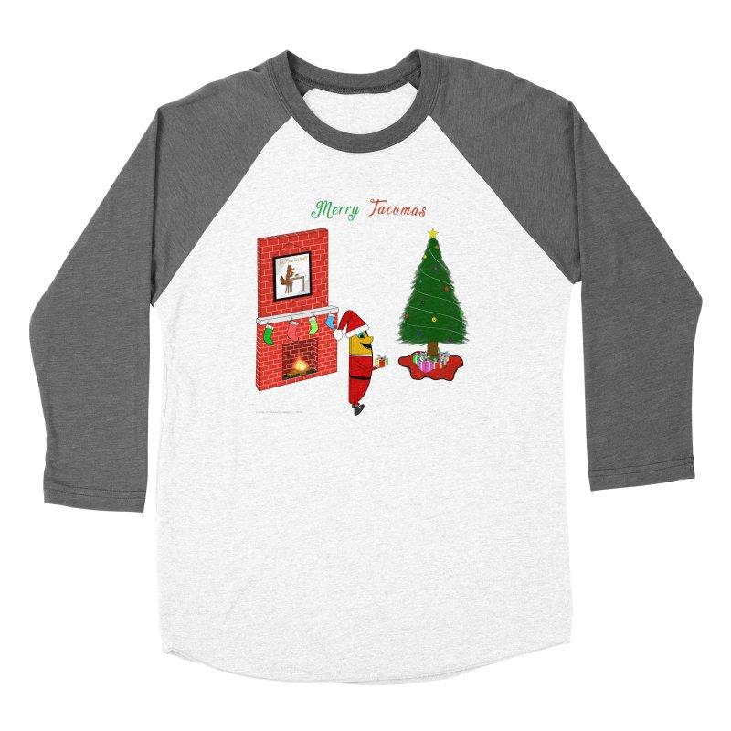 Merry Tacomas Women's Baseball Triblend Longsleeve T-Shirt by Every Drop's An Idea's Artist Shop