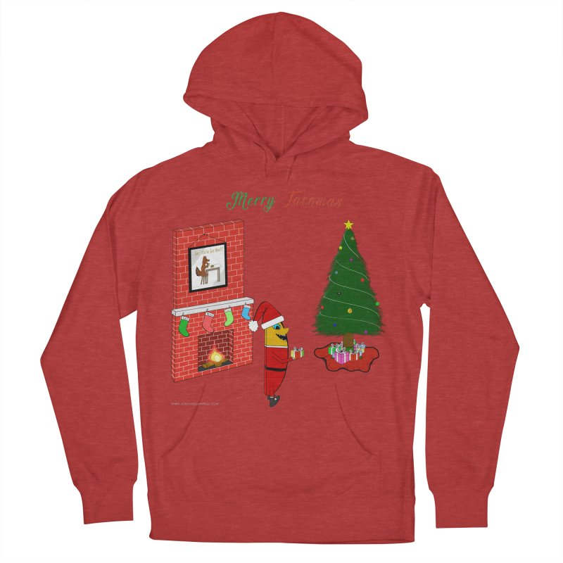 Merry Tacomas Men's French Terry Pullover Hoody by Every Drop's An Idea's Artist Shop