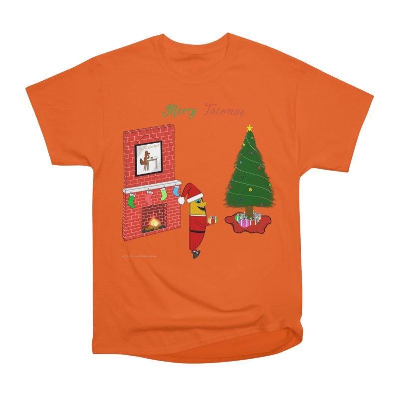 Merry Tacomas Men's Heavyweight T-Shirt by Every Drop's An Idea's Artist Shop