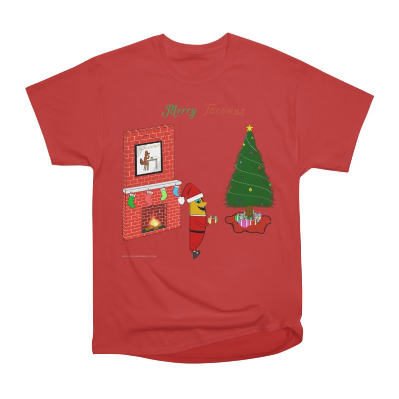 Merry Tacomas Women's Heavyweight Unisex T-Shirt by Every Drop's An Idea's Artist Shop