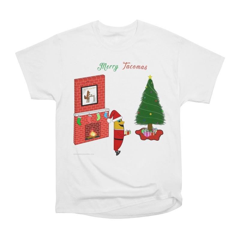 Merry Tacomas Women's Heavyweight Unisex T-Shirt by Every Drop's An Idea's Artist Shop