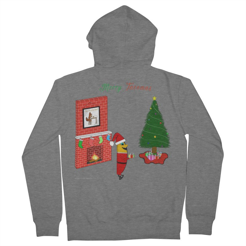 Merry Tacomas Women's French Terry Zip-Up Hoody by Every Drop's An Idea's Artist Shop