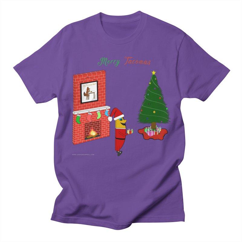 Merry Tacomas Men's Regular T-Shirt by Every Drop's An Idea's Artist Shop