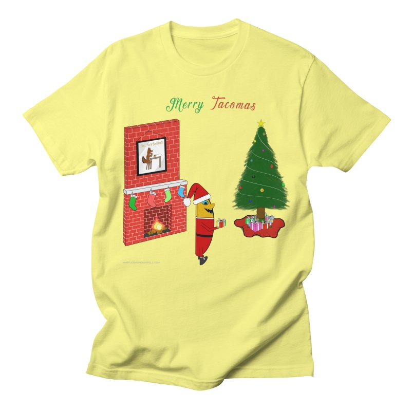 Merry Tacomas Men's Regular T-Shirt by Every Drop's An Idea's Artist Shop