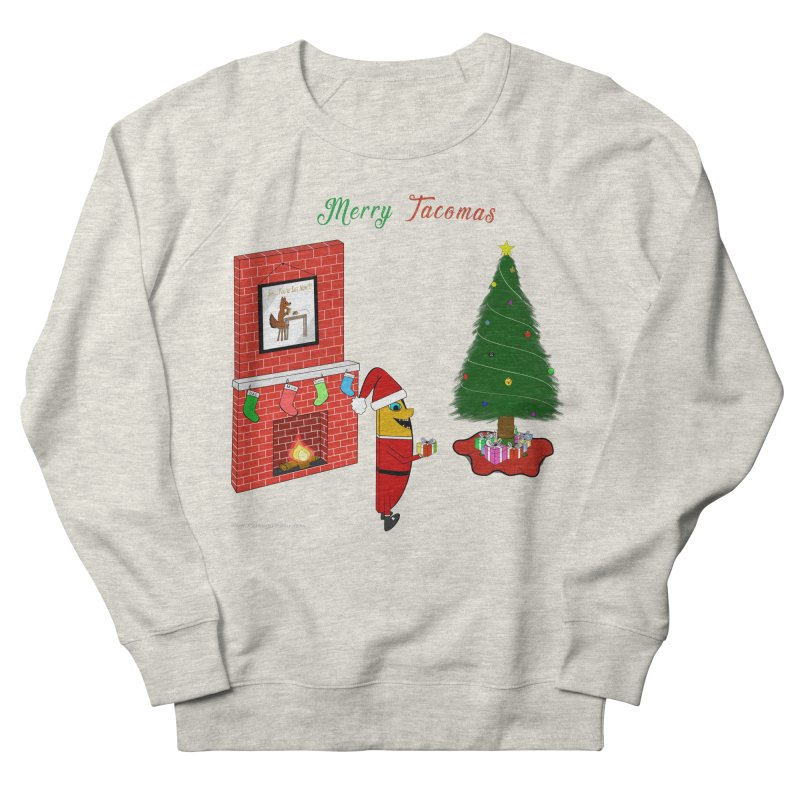 Merry Tacomas Women's French Terry Sweatshirt by Every Drop's An Idea's Artist Shop