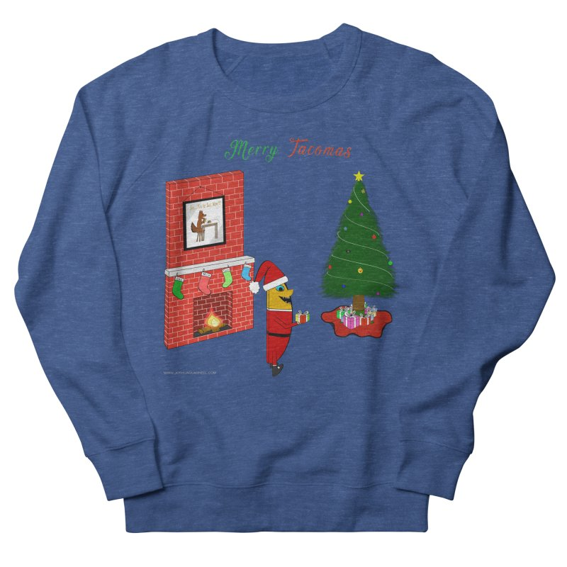Merry Tacomas Men's French Terry Sweatshirt by Every Drop's An Idea's Artist Shop