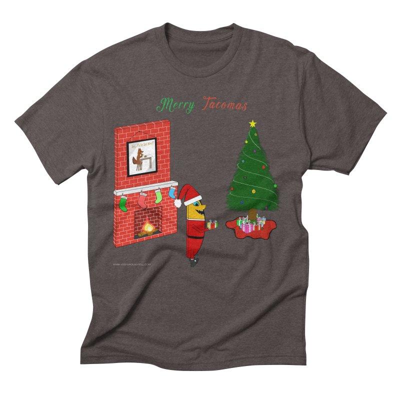 Merry Tacomas Men's Triblend T-Shirt by Every Drop's An Idea's Artist Shop