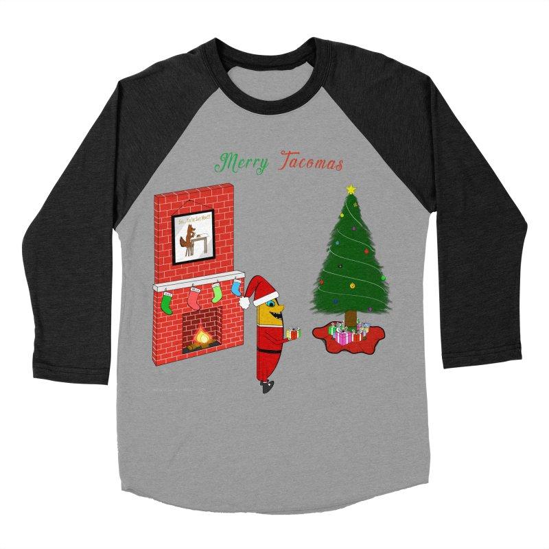 Merry Tacomas Men's Baseball Triblend Longsleeve T-Shirt by Every Drop's An Idea's Artist Shop