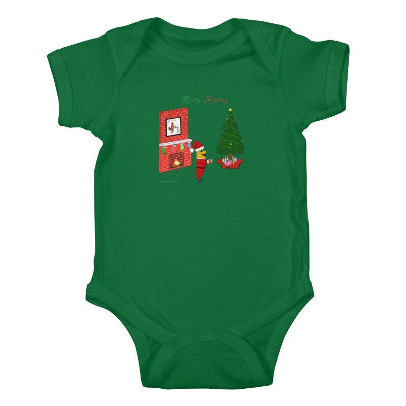Merry Tacomas Kids Baby Bodysuit by Every Drop's An Idea's Artist Shop