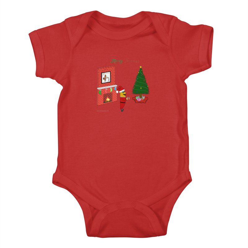 Merry Tacomas Kids Baby Bodysuit by Every Drop's An Idea's Artist Shop