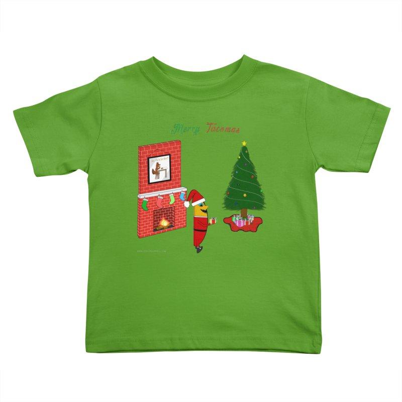 Merry Tacomas Kids Toddler T-Shirt by Every Drop's An Idea's Artist Shop