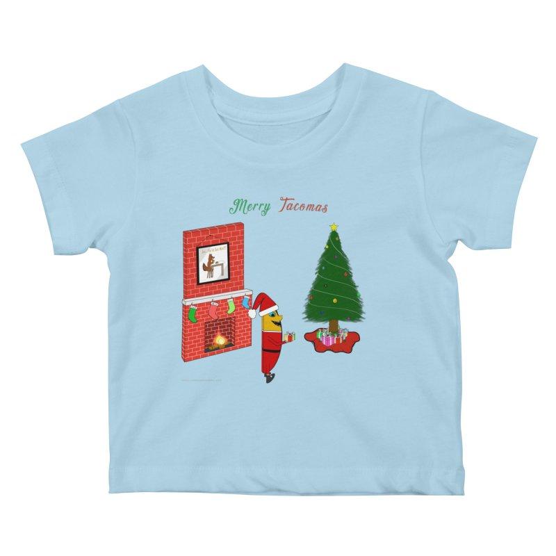 Merry Tacomas Kids Baby T-Shirt by Every Drop's An Idea's Artist Shop