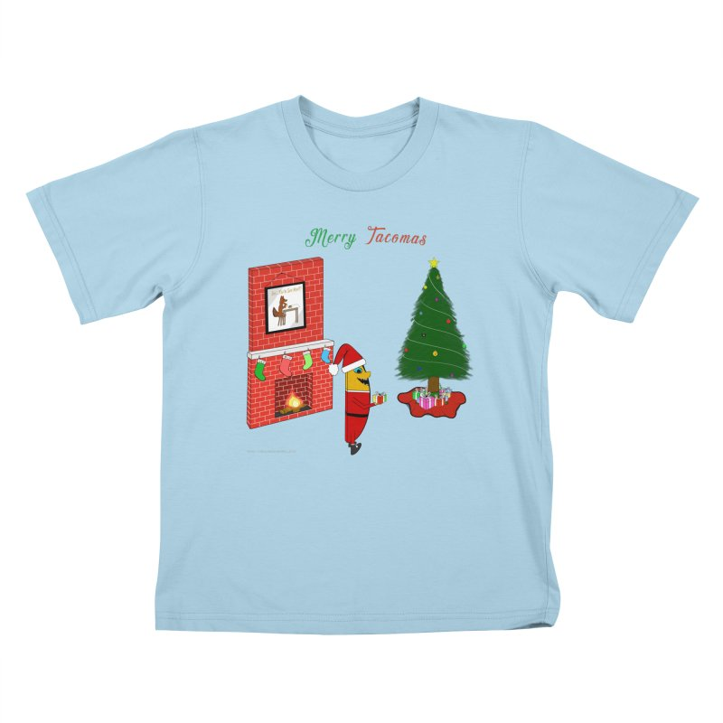 Merry Tacomas Kids T-Shirt by Every Drop's An Idea's Artist Shop