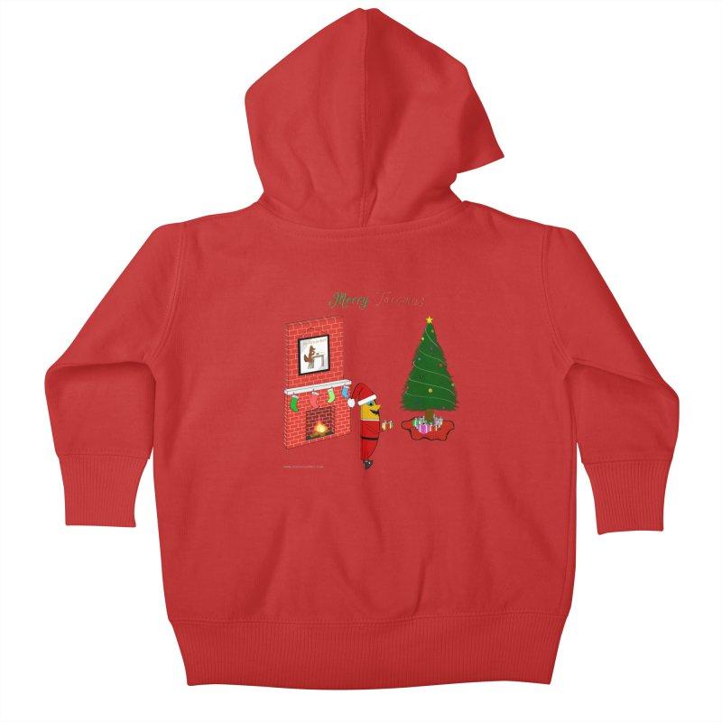 Merry Tacomas Kids Baby Zip-Up Hoody by Every Drop's An Idea's Artist Shop