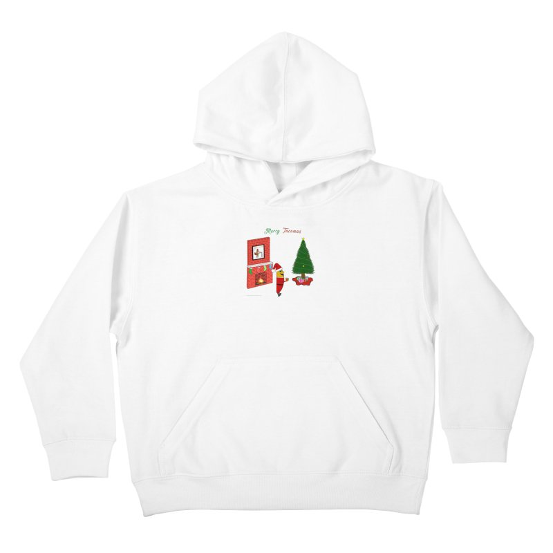 Merry Tacomas Kids Pullover Hoody by Every Drop's An Idea's Artist Shop