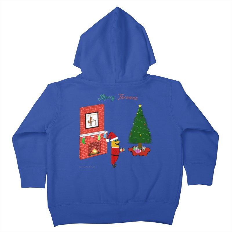 Merry Tacomas Kids Toddler Zip-Up Hoody by Every Drop's An Idea's Artist Shop