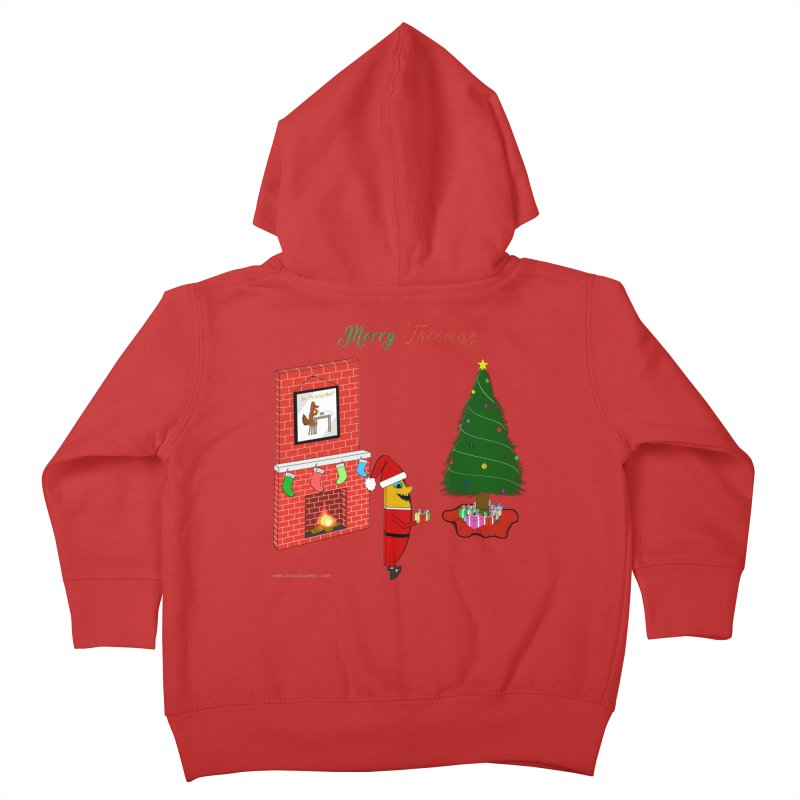 Merry Tacomas Kids Toddler Zip-Up Hoody by Every Drop's An Idea's Artist Shop