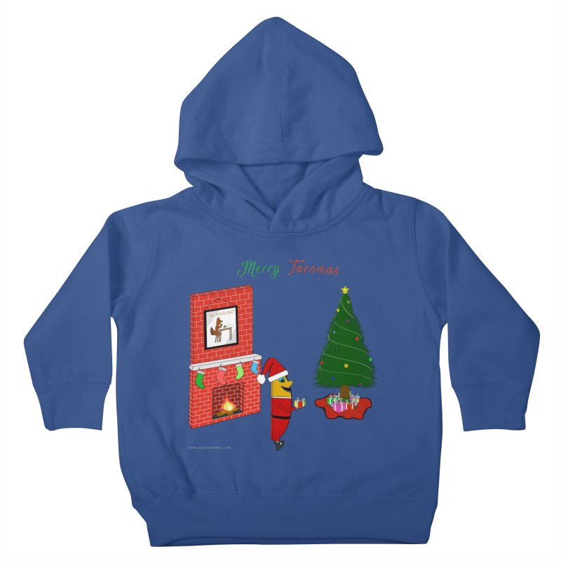 Merry Tacomas Kids Toddler Pullover Hoody by Every Drop's An Idea's Artist Shop