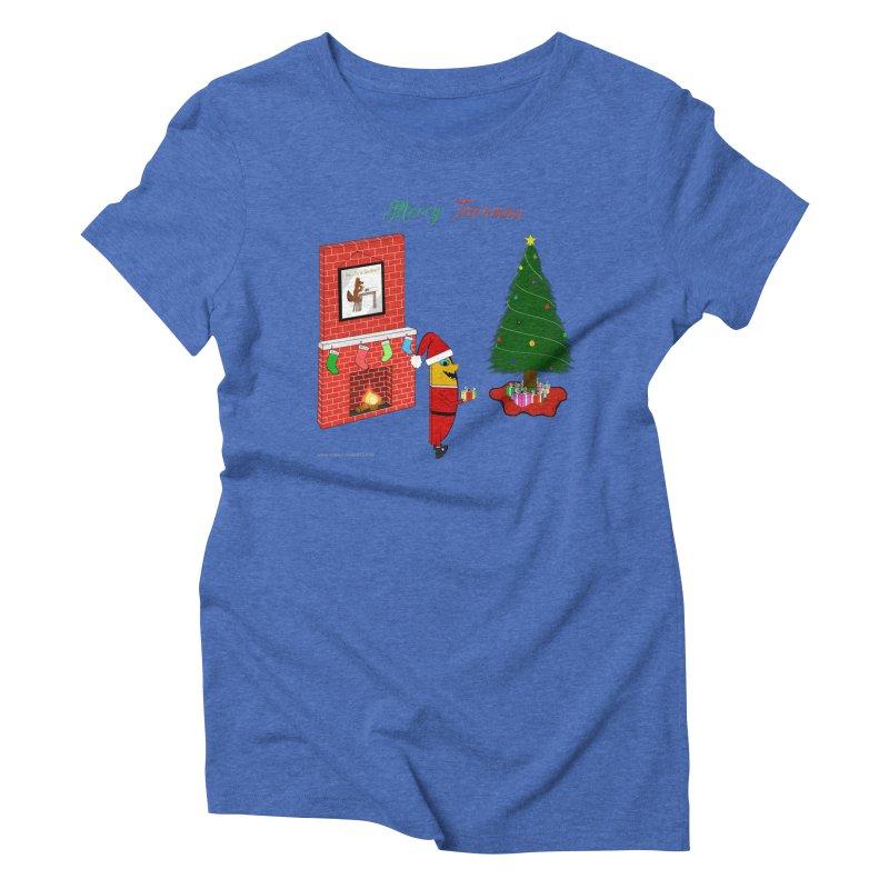 Merry Tacomas Women's Triblend T-Shirt by Every Drop's An Idea's Artist Shop