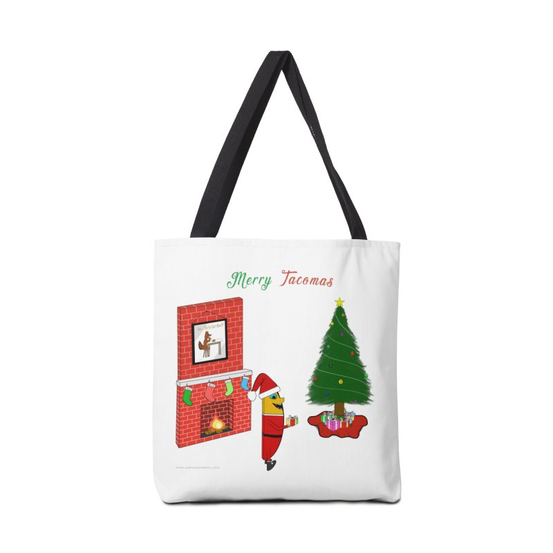 Merry Tacomas Accessories Bag by Every Drop's An Idea's Artist Shop