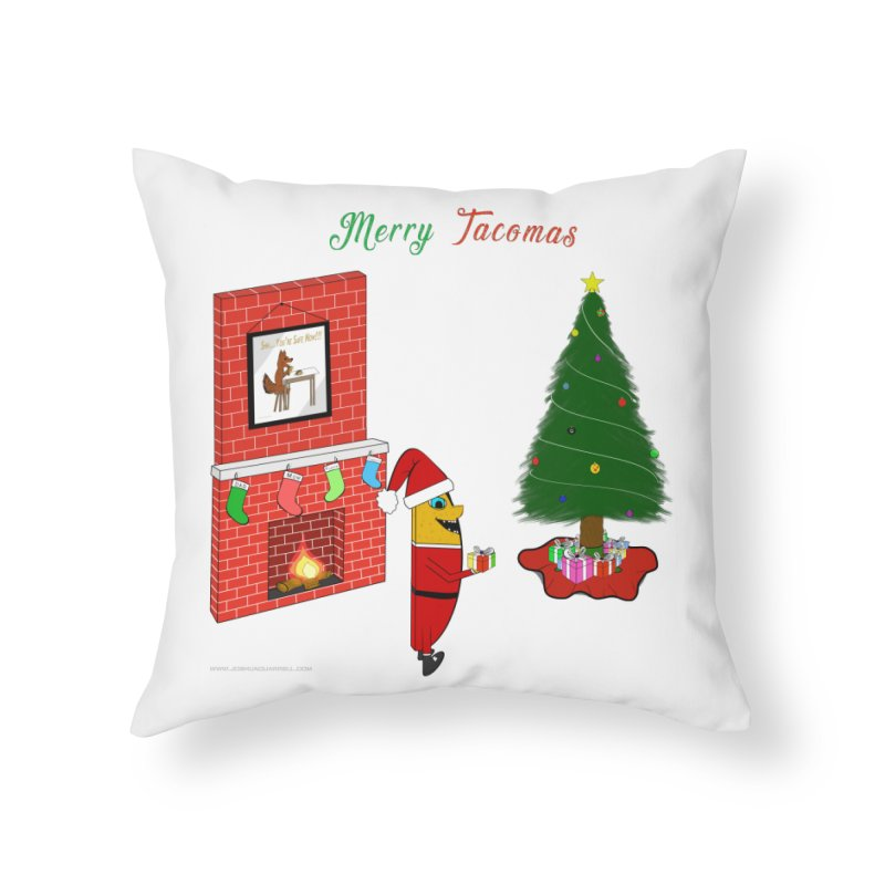 Merry Tacomas Home Throw Pillow by Every Drop's An Idea's Artist Shop