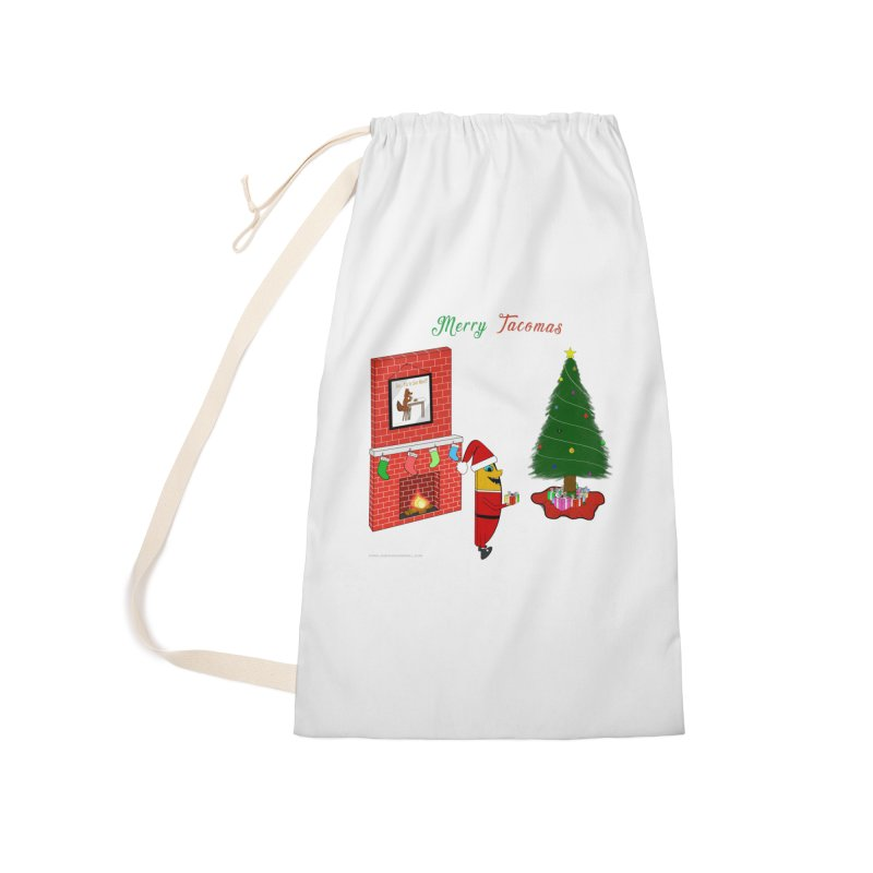 Merry Tacomas Accessories Laundry Bag Bag by Every Drop's An Idea's Artist Shop