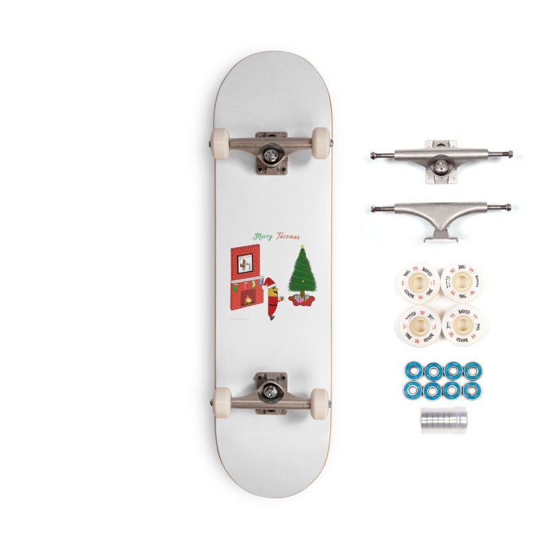 Merry Tacomas Accessories Complete - Premium Skateboard by Every Drop's An Idea's Artist Shop