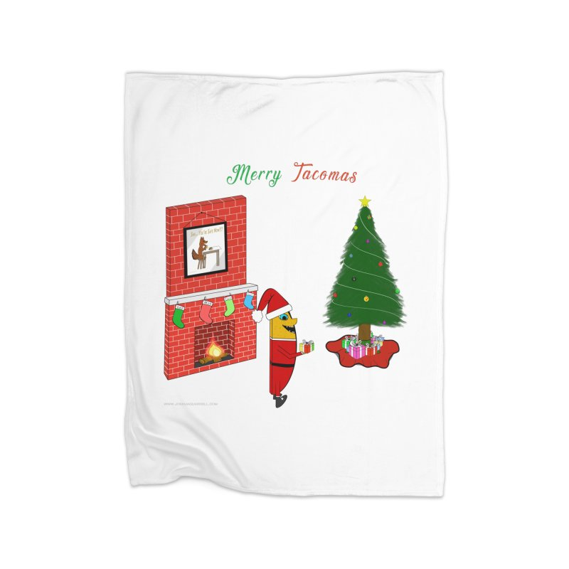 Merry Tacomas Home Blanket by Every Drop's An Idea's Artist Shop