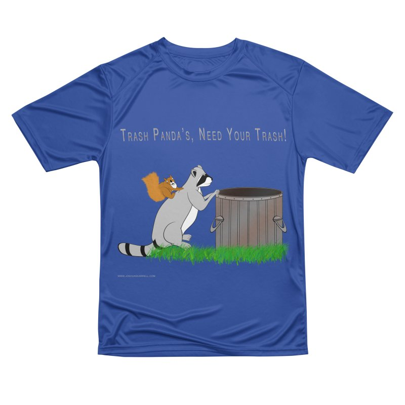 Ride Into The Trash Men's Performance T-Shirt by Every Drop's An Idea's Artist Shop